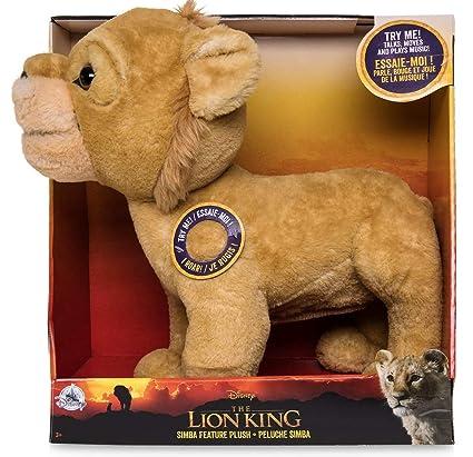Amazoncom Plush Simba Talking The Lion King 2019 13 H