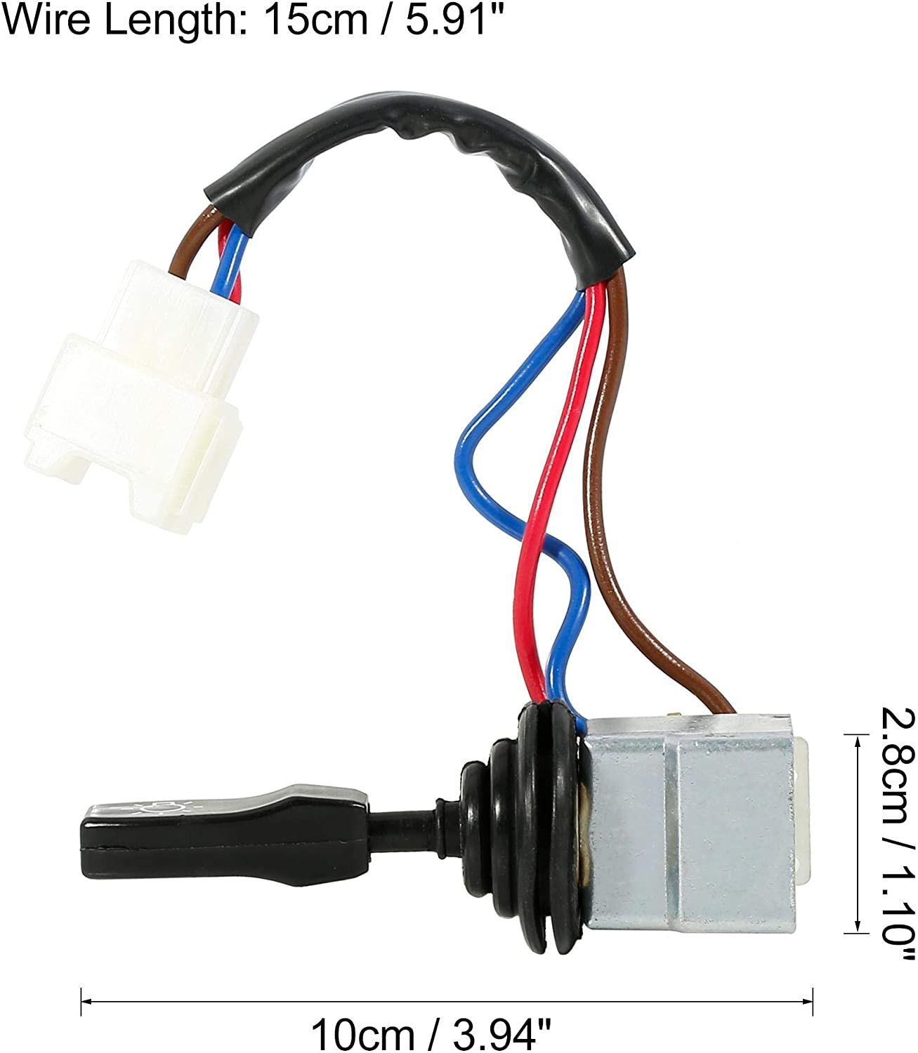 X AUTOHAUX Car Headlight Switch Control 3 Pins AMR6104 for Land Rover Defender 2011-2014