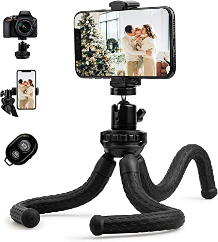 Fotopro Handy Stativ Flexibel Tripod Dreibein Kamera Amazon De Kamera