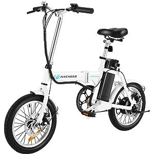 ANCHEER Folding Electric Commuter Bike