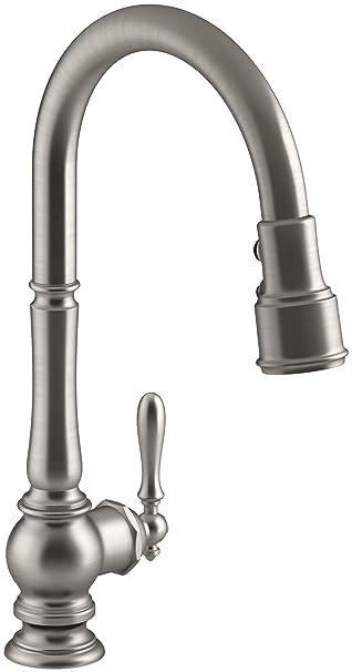 Kohler K 99259 Vs Artifacts Single Hole Kitchen Sink Faucet With 17
