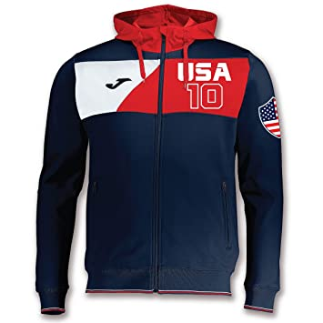 KiarenzaFD Joma - Sudadera Cremallera con Capucha para Hombre - USA Estados Unidos 10 Custom Printing 2: Amazon.es: Deportes y aire libre