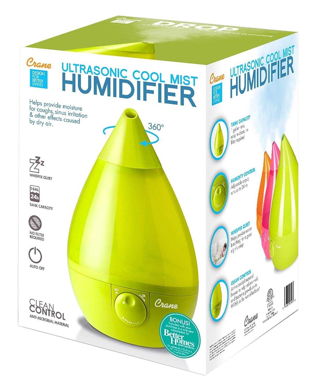 Amazon Crane Usa Filter Free Cool Mist Humidifier Green