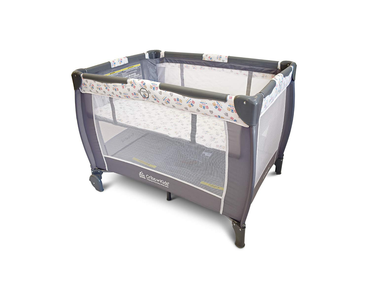 Cribette Portable Crib with Safe Sleep Message by Cribs for Kids