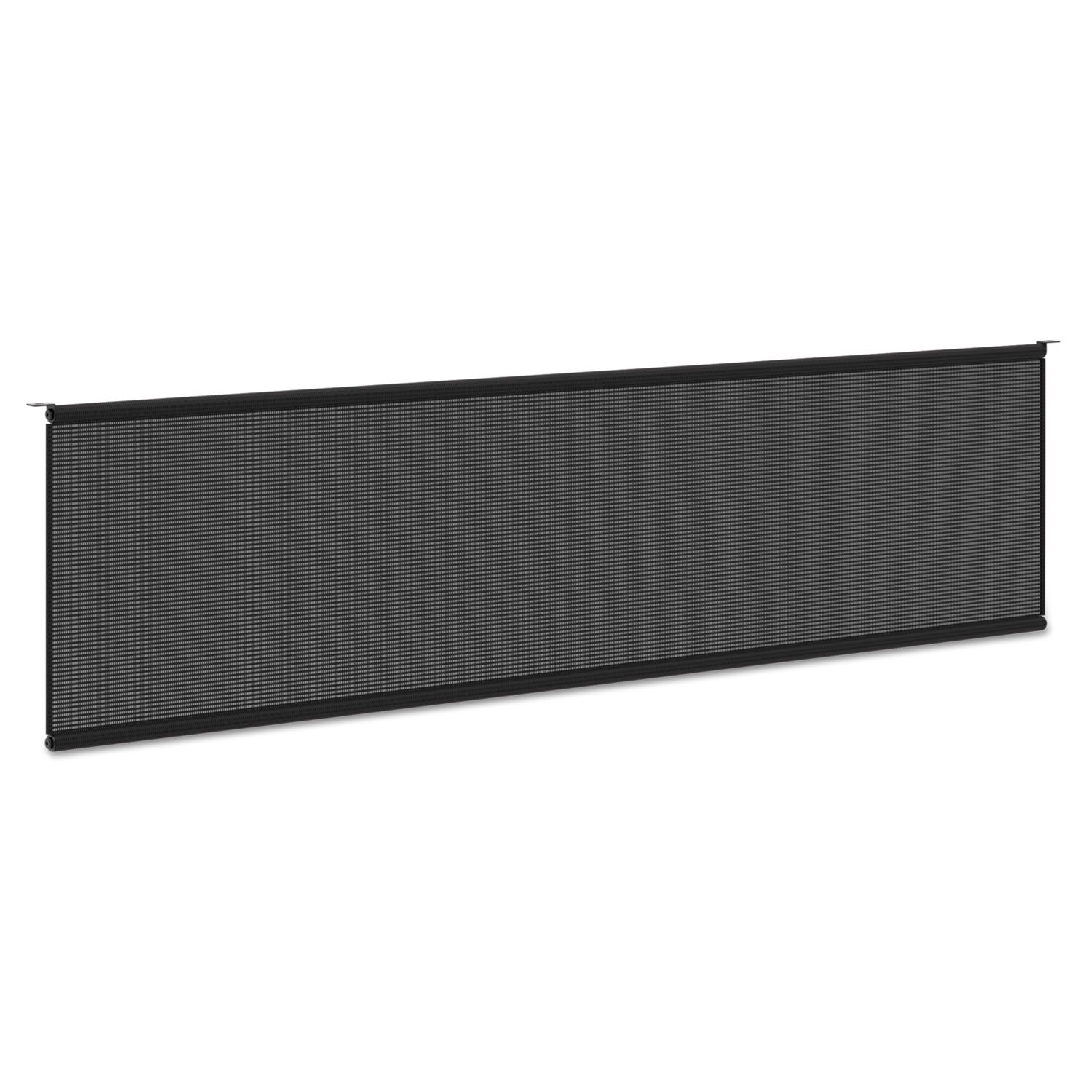 HON Modesty Panel for 60''W Worksurface , Black Mesh Fabric