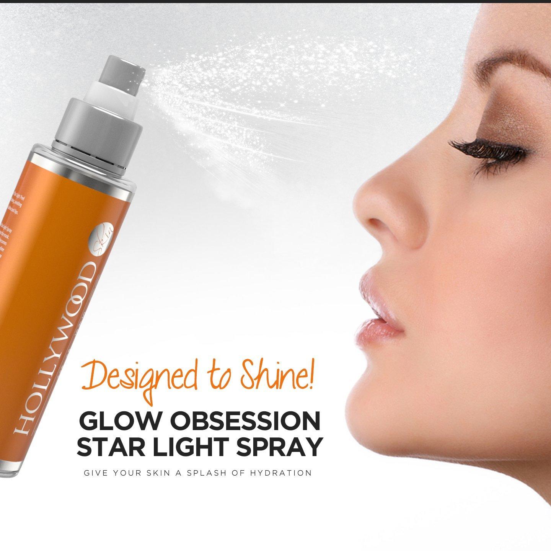 GLOW OBSESSION - Spray Facial 20% Vitamina C. Anti-edad, humectación profunda y protección contra agentes ambientales. 400% más FUERTE que la competencia.