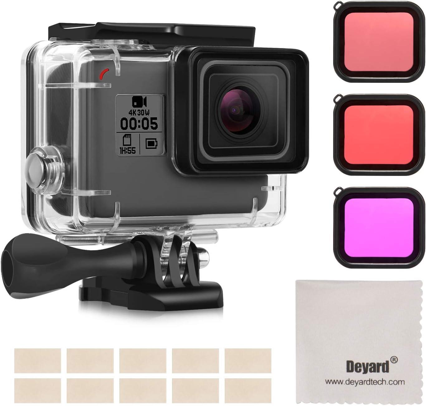 Deyard Wasserdichtes Zubehör Kit Für Gopro Hero 7 Black Kamera