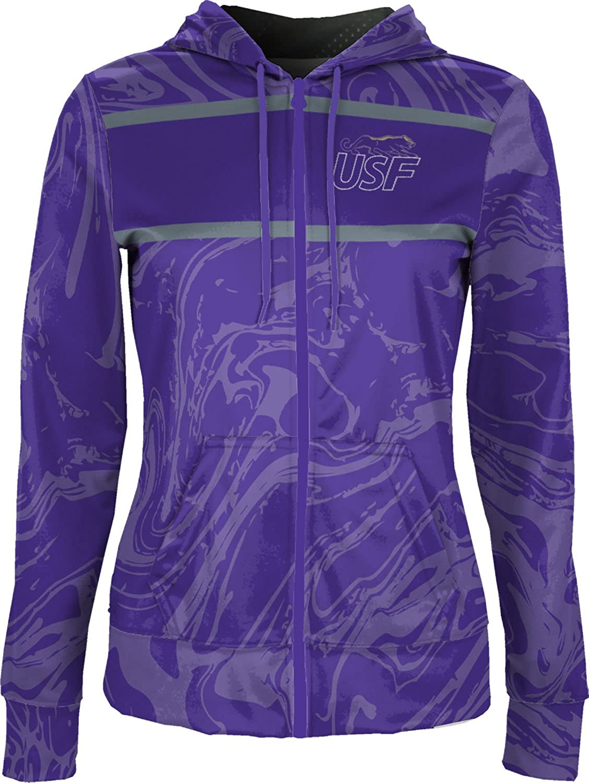 Ripple School Spirit Sweatshirt ProSphere University of Sioux Falls Girls Zipper Hoodie