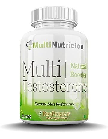 Multi Testosterone | Testosterona Natural| Bioperine® Fenogreco Tribulus D-aspartico Ashwagandha Citrulina|