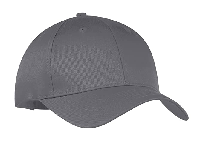 a441b1f4738 Image Unavailable. Image not available for. Color  Port   Company  Unisex-adult Six-Panel Twill Cap CP80 -Charcoal OSFA