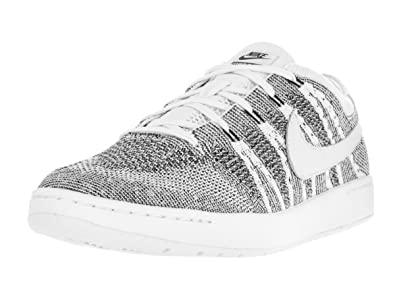 newest c0205 b8afc Nike Men s Tennis Classic Ultra Flyknit White White Black Tennis Shoe 8 Men  US  Buy Online at Low Prices in India - Amazon.in