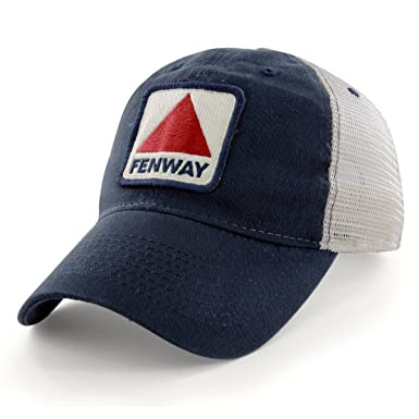 70f7902505b4d Chowdaheadz Fenway Patch Townie Mesh Trucker Navy Hat at Amazon ...