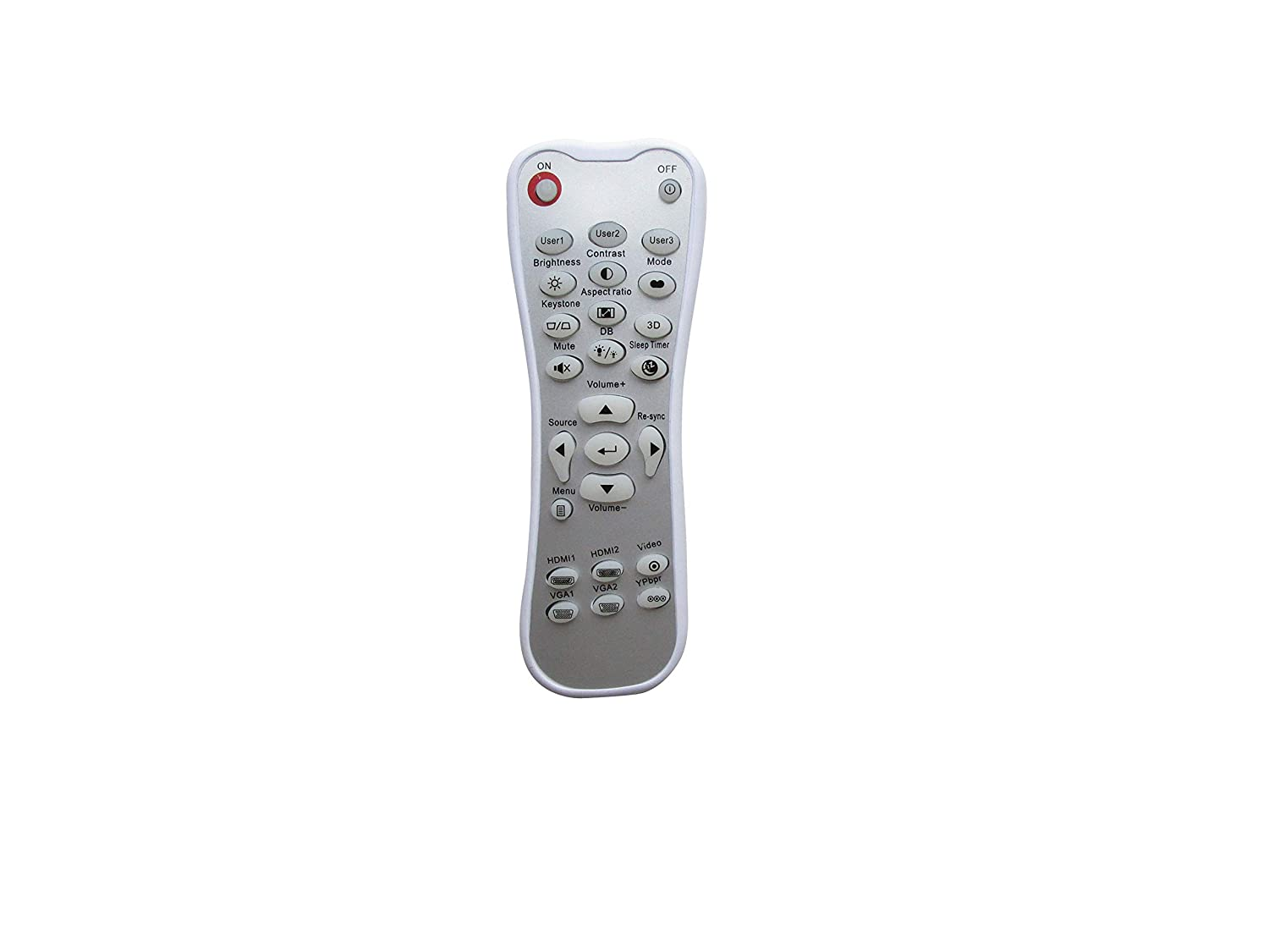 Universal Replacement Remote Control Fit For Dell M410HD S300ST S500WI DLP Projector
