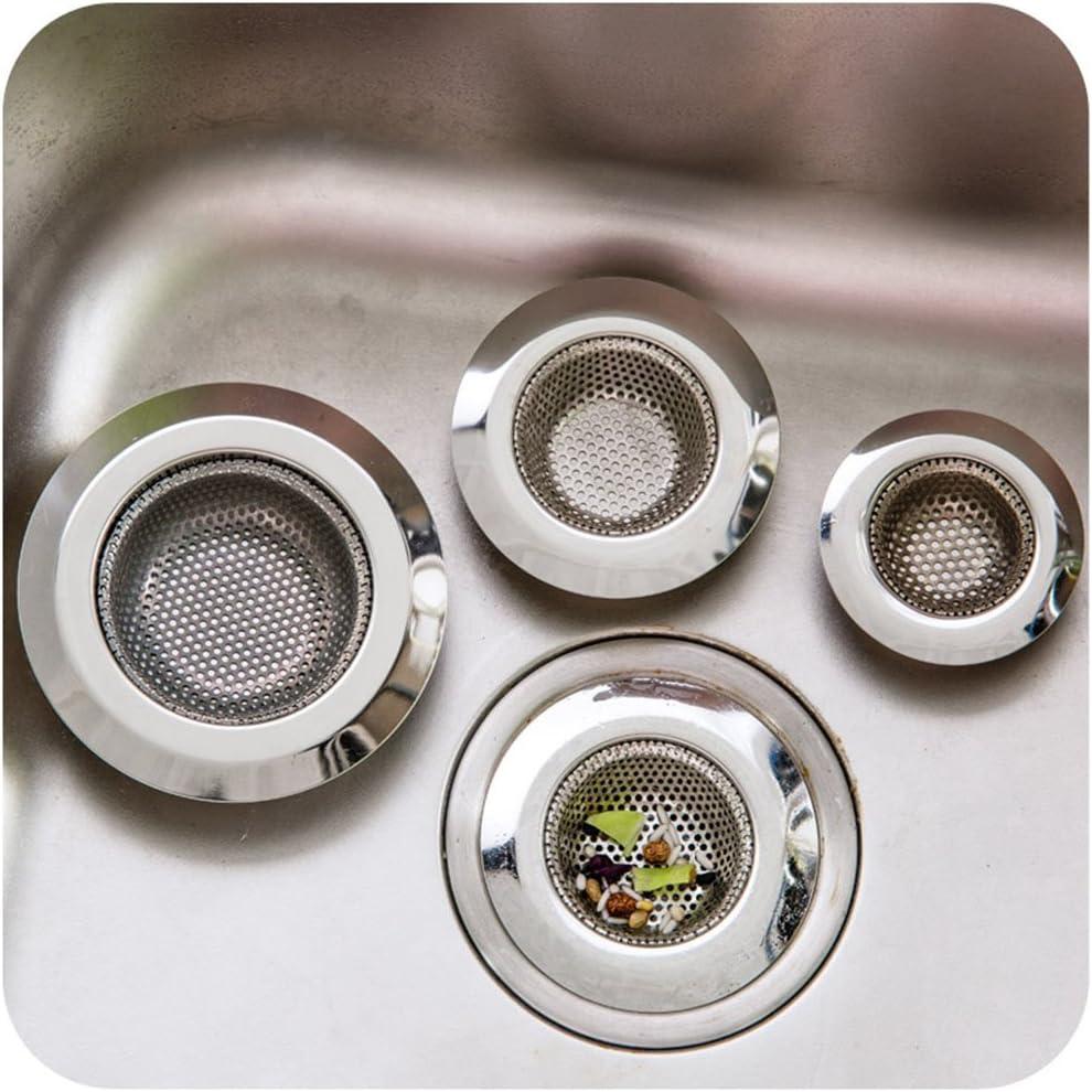 HDL Cr/épine Panier en Acier Inoxydable Drain Protecteur /Évier Cr/épine Plug Filtre De Vidange pour Douche Bain Cuisine Couvercle De Drain