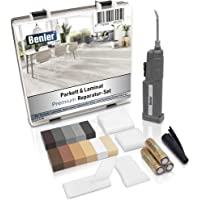 BENLER NIEUW! - Houten reparatieset met 2-in-1 wassmelter voor laminaat parket en vinylvloer - houtkit ook voor PVC…