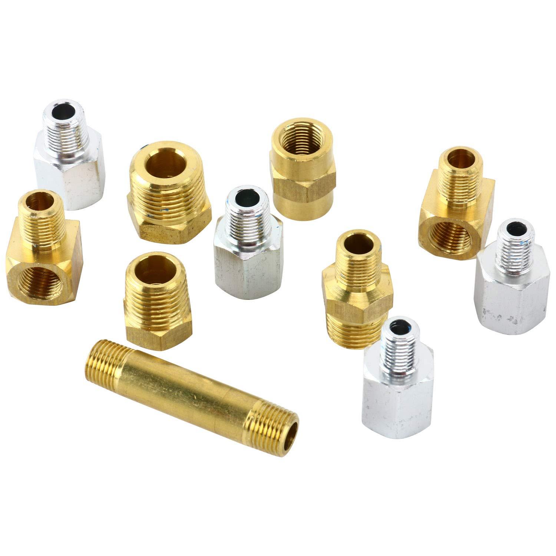 8milelake Engine Oil Pressure Tester Gauge Diagnostic Test Kit 500PSI w//Case