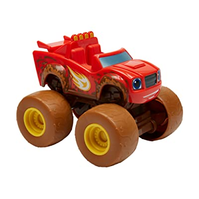 Fisher-Price Nickelodeon Blaze & the Monster Machines, Talking Mud Fest Blaze: Toys & Games