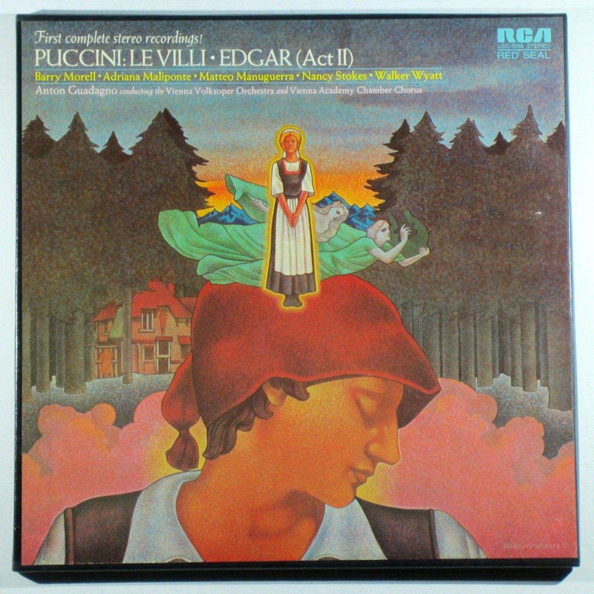 Puccini Anton Guadagno Vienna Volksoper Orchestra Puccini Le