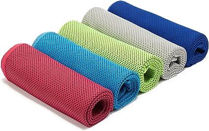 Toalla de Microfibra para Gimnasio para Ciclismo Quick Dry Yoga Viajes casa Fitness