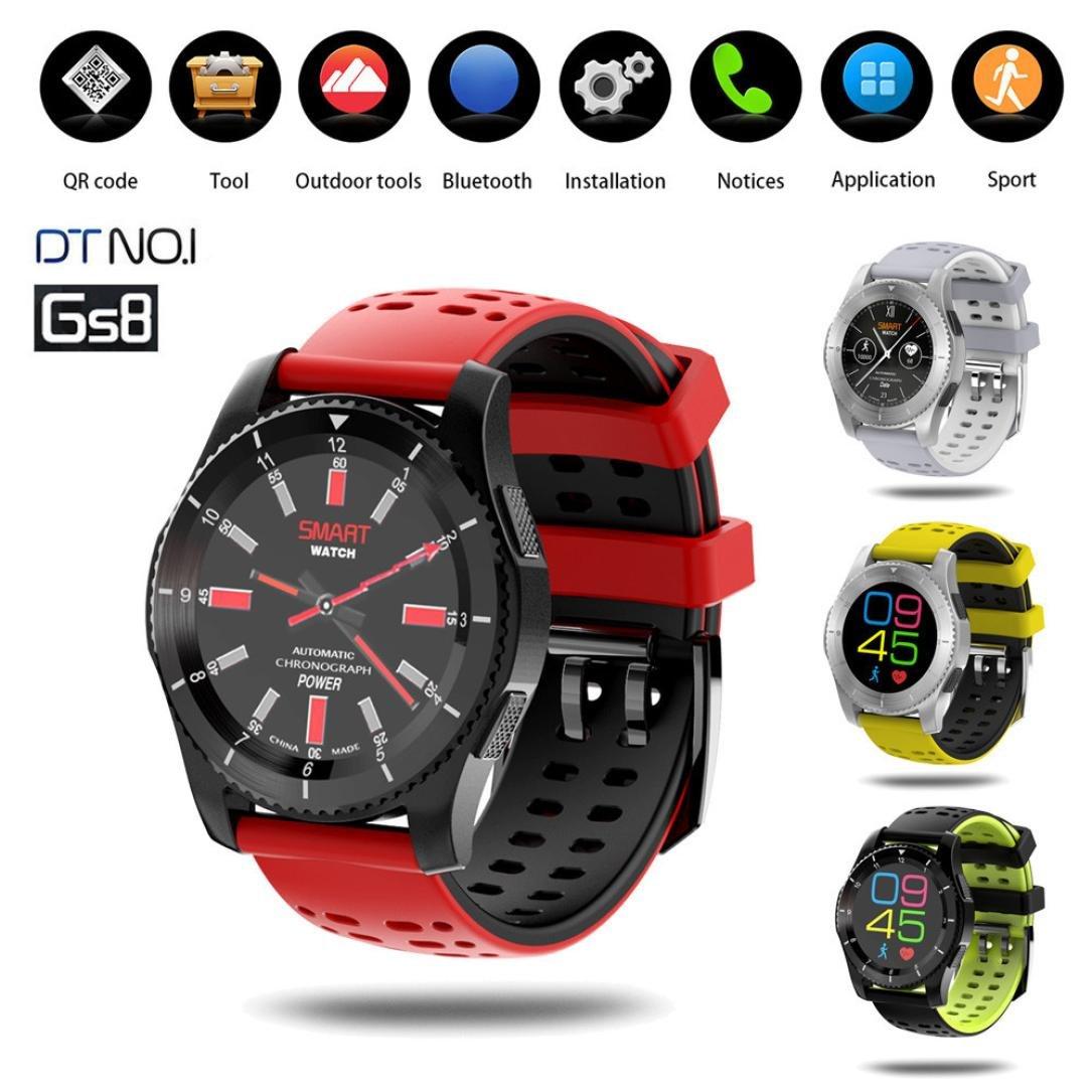 Reloj Inteligente Impermeable Pulsera Actividad con Cámara ...
