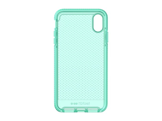 release date: c2259 0ffcf tech21 - Evo Check Case - for Apple iPhone Xs Max - Neon Aqua
