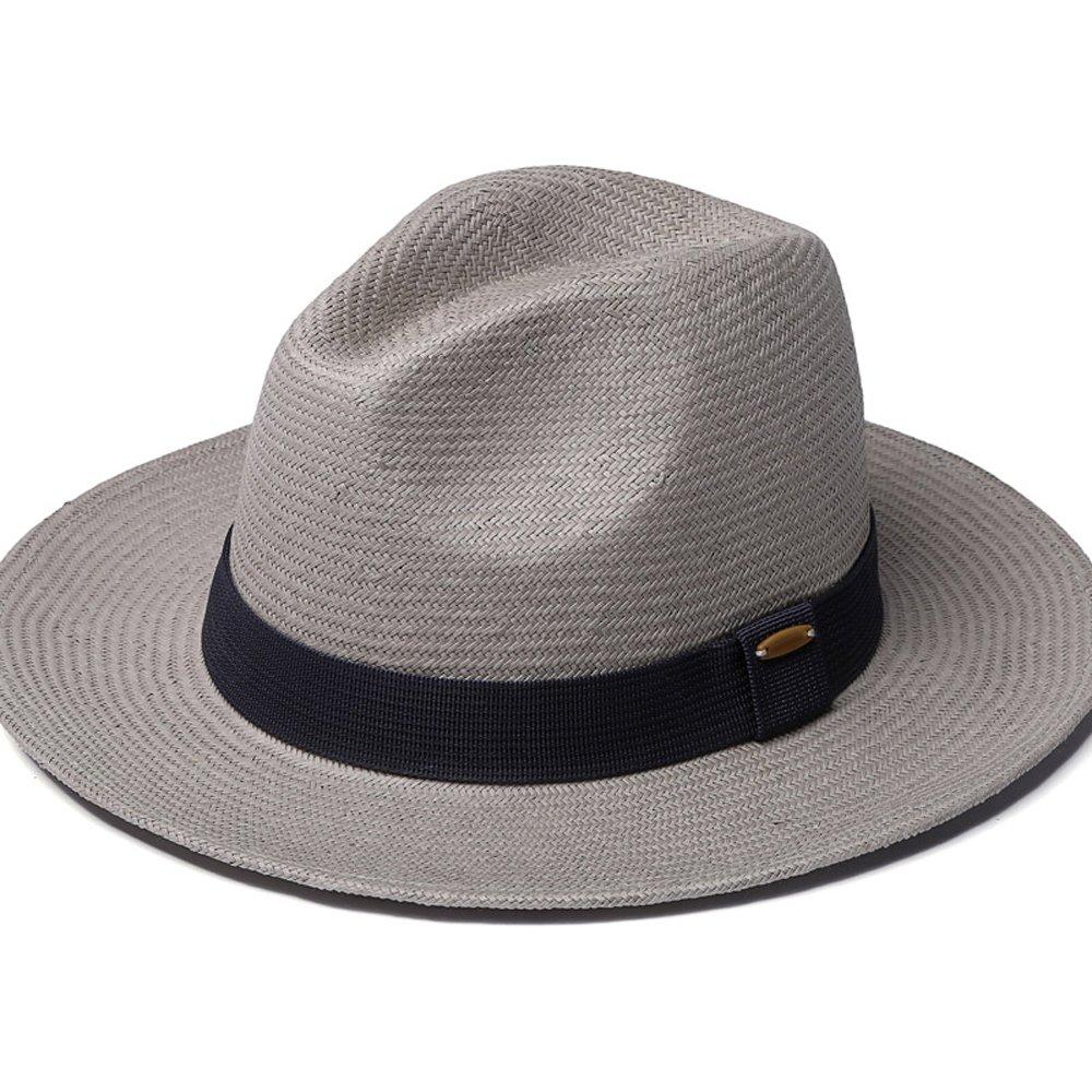 Abbigliamento-YUE Cappello Panama Lavorato a Mano 851867bf130c