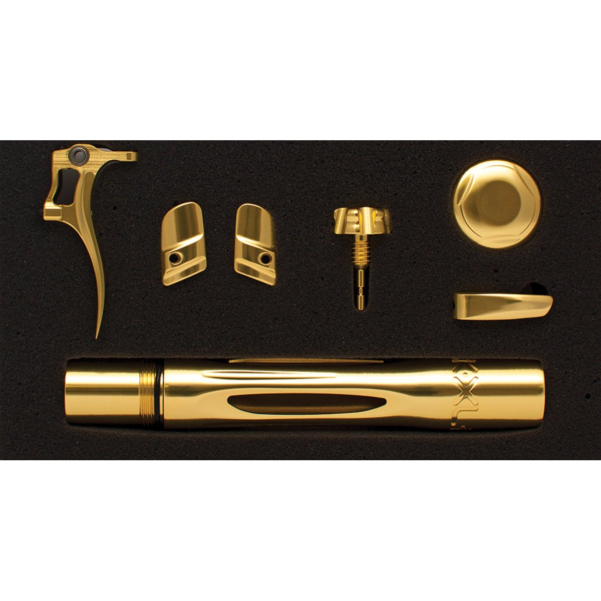 SP Shocker XLS Accent Color Kit - Gloss Gold by Shocker Paintball