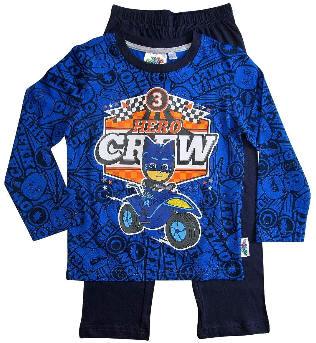 PJ Masks Catboy - Pijama para niño Azul 110/116 cm: Amazon.es ...