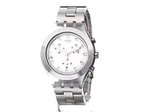 Amazon.com: Swatch Mens SVCK4038G Full Blooded Silver Watch: Swatch: Watches