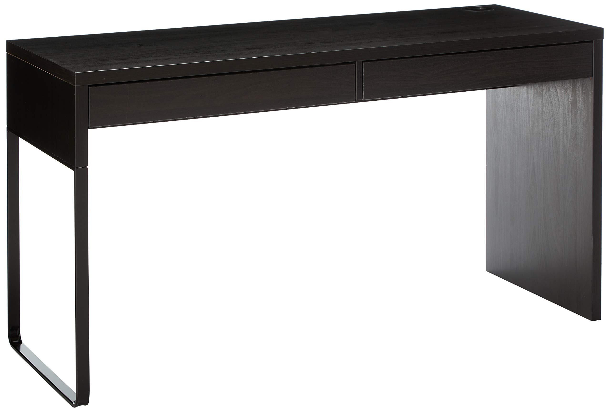 IKEA 602.447.45 MICKE Desk, Black-Brown by IKEA