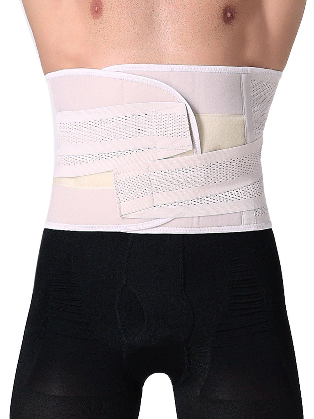 Feoya Elastic Beer Belly Control Compression Abdominal Binder Shapewear Size XL Skin