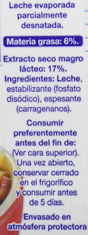 Nestlé Ideal - Leche evaporada semidesnatada - Caja de leche evaporada 12 x 500 ml (525g): Amazon.es: Alimentación y bebidas