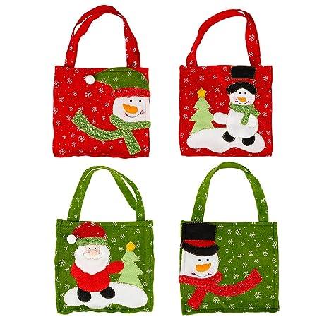Eleery – Bolsas de regalo Navidad, decoración navideña con ...