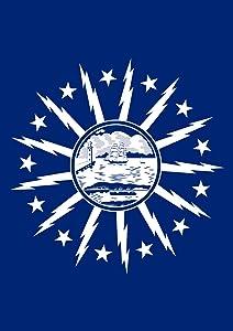 Toland Home Garden Buffalo City Flag 12.5 x 18 Inch Decorative New York Town Regional Garden Flag