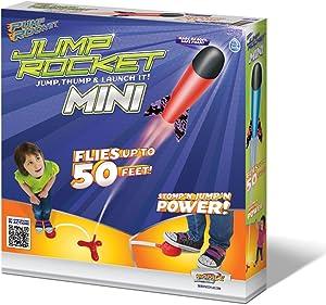 Geospace Jump Rocket Set with Launcher and Foam Rockets (Mini Jump Rocket Set)
