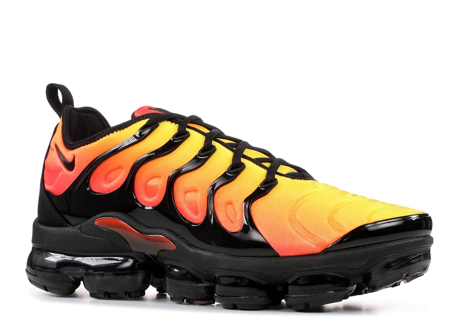 2b47f11854 Amazon.com | Nike Mens Air Vapormax Plus Black/Total Orange Neoprene Size  13 | Athletic