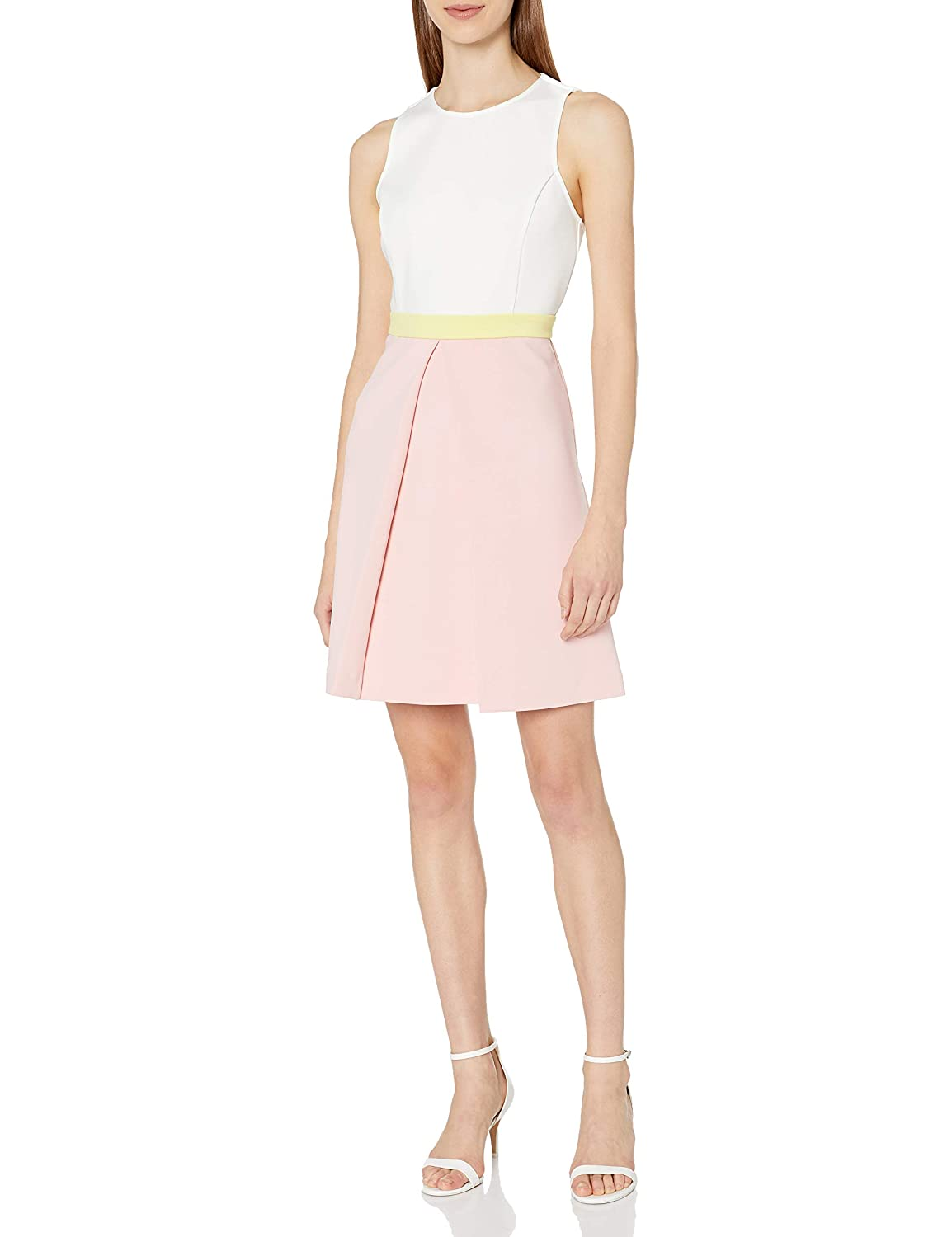 Erin erin fetherston Womens Colorblock Callie Crepe Knit Dress