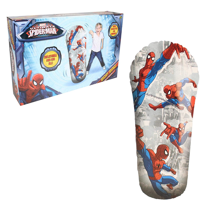 Marvel Ultimate Spiderman Inflatable 33cm Bop Bag Punching Boxing Bag