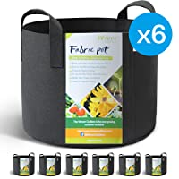 Deals on 6-Pack WINNER OUTFITTERS 3 Gallon Grow Bags/Aeration Fabric Pots