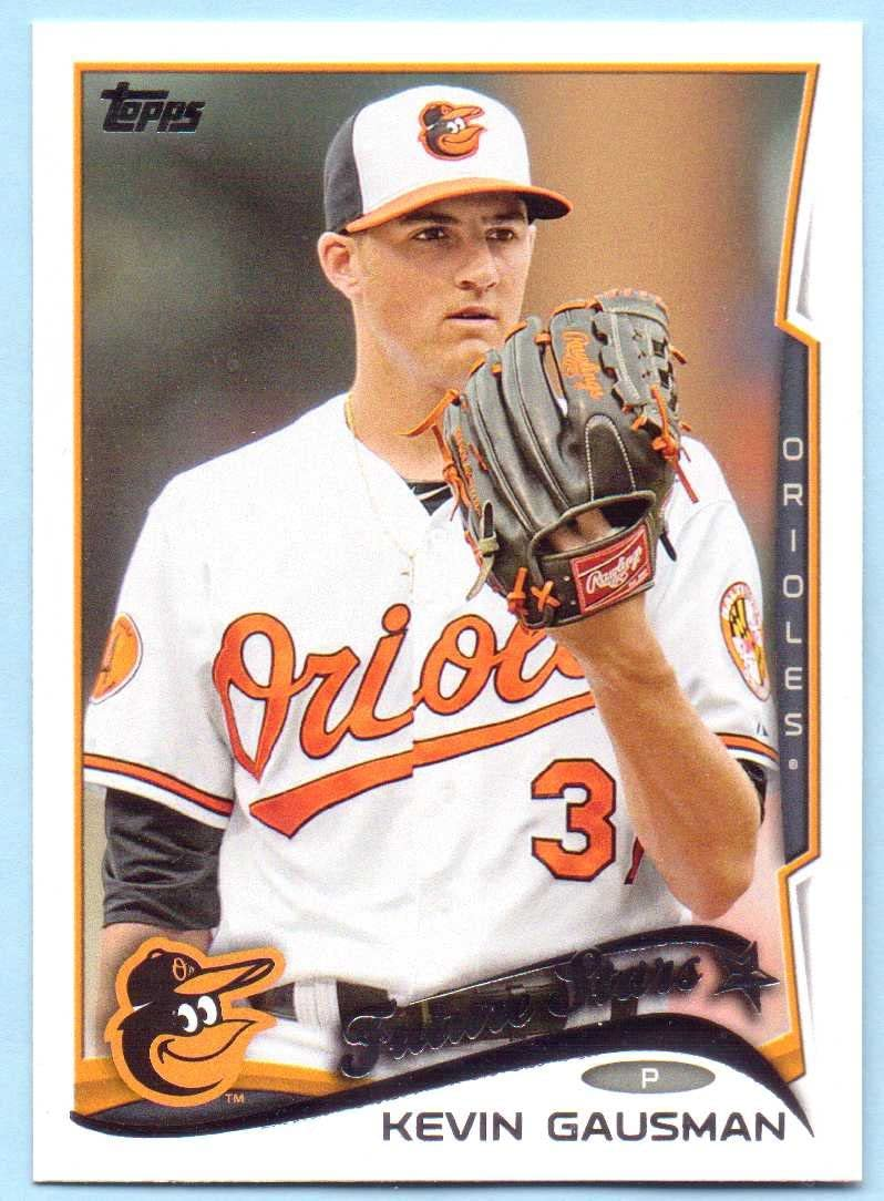 Kevin Gausman Baltimore Orioles Autographed Signed 8x10 Picture White A