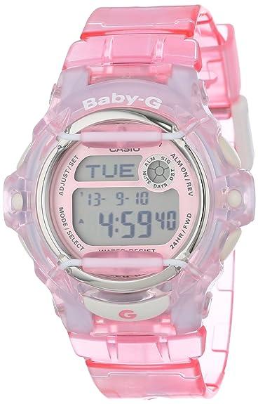 2f5c79002622 Amazon.com  Casio Women s BG169R-4 Baby-G Pink Whale Digital Sport ...