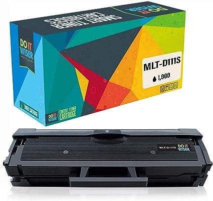 Compatible D111S MLT-D111S Laser Printer Toner Cartridge High Yield Use for Samsung Xpress SL-M2022W SL-M2026 SL-M2070F Printer 2-Pack Black