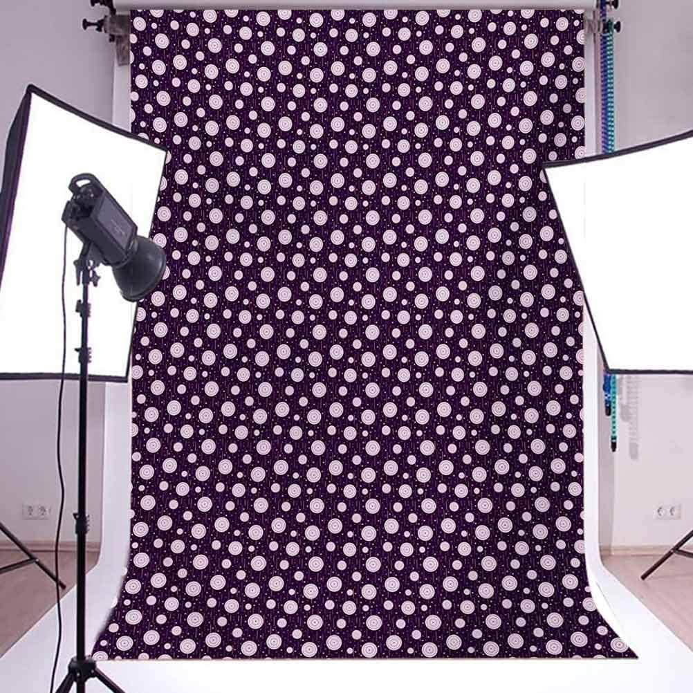 Star with Leopard Texture with Grunge Effect Hipster Geometrical Design Background for Photography Kids Adult Photo Booth Video Shoot Vinyl Studio Props Leopard Print 8x10 FT Photography Backdrop