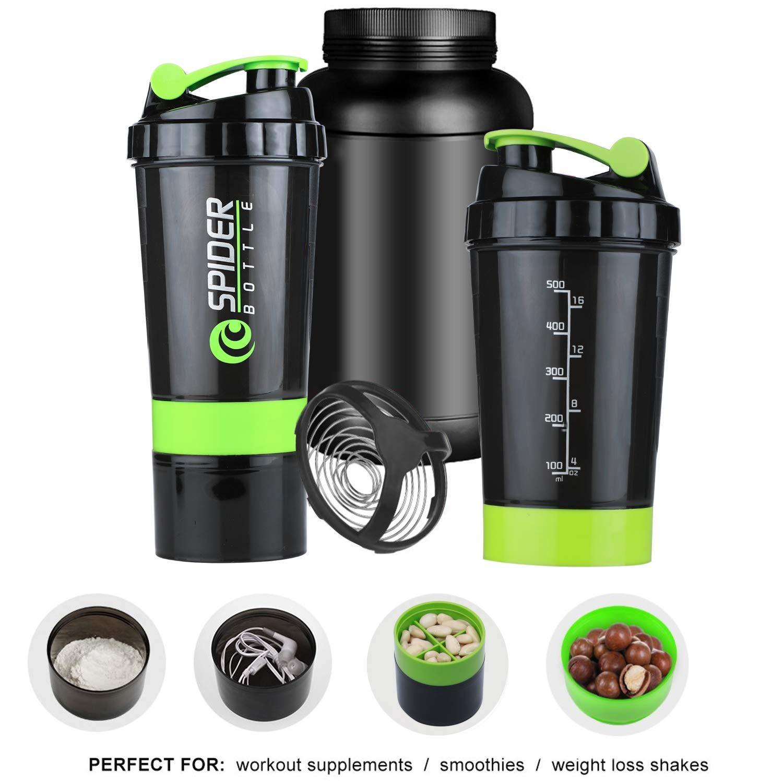 Rocketkart Protein Shaker Bottle 500ml