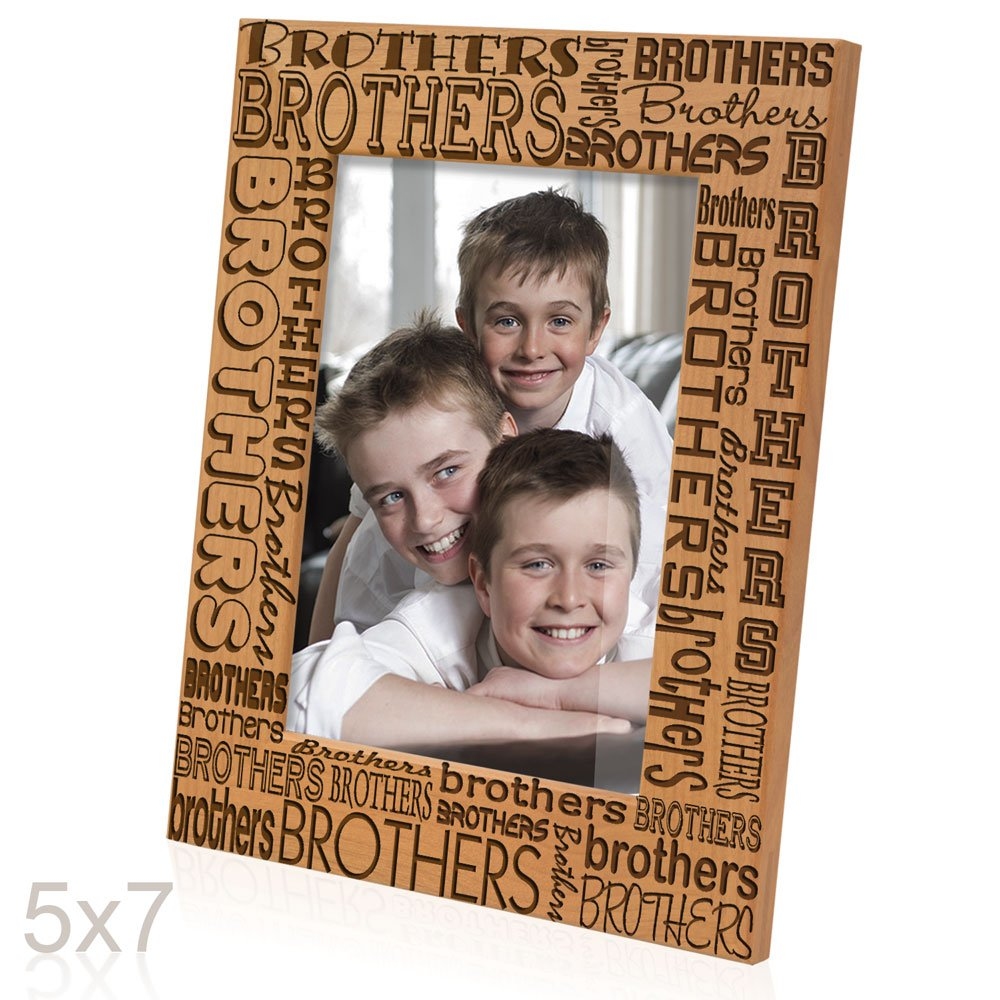 Amazon.com - Kate Posh - Brothers Picture Frame (5x7 Vertical) -