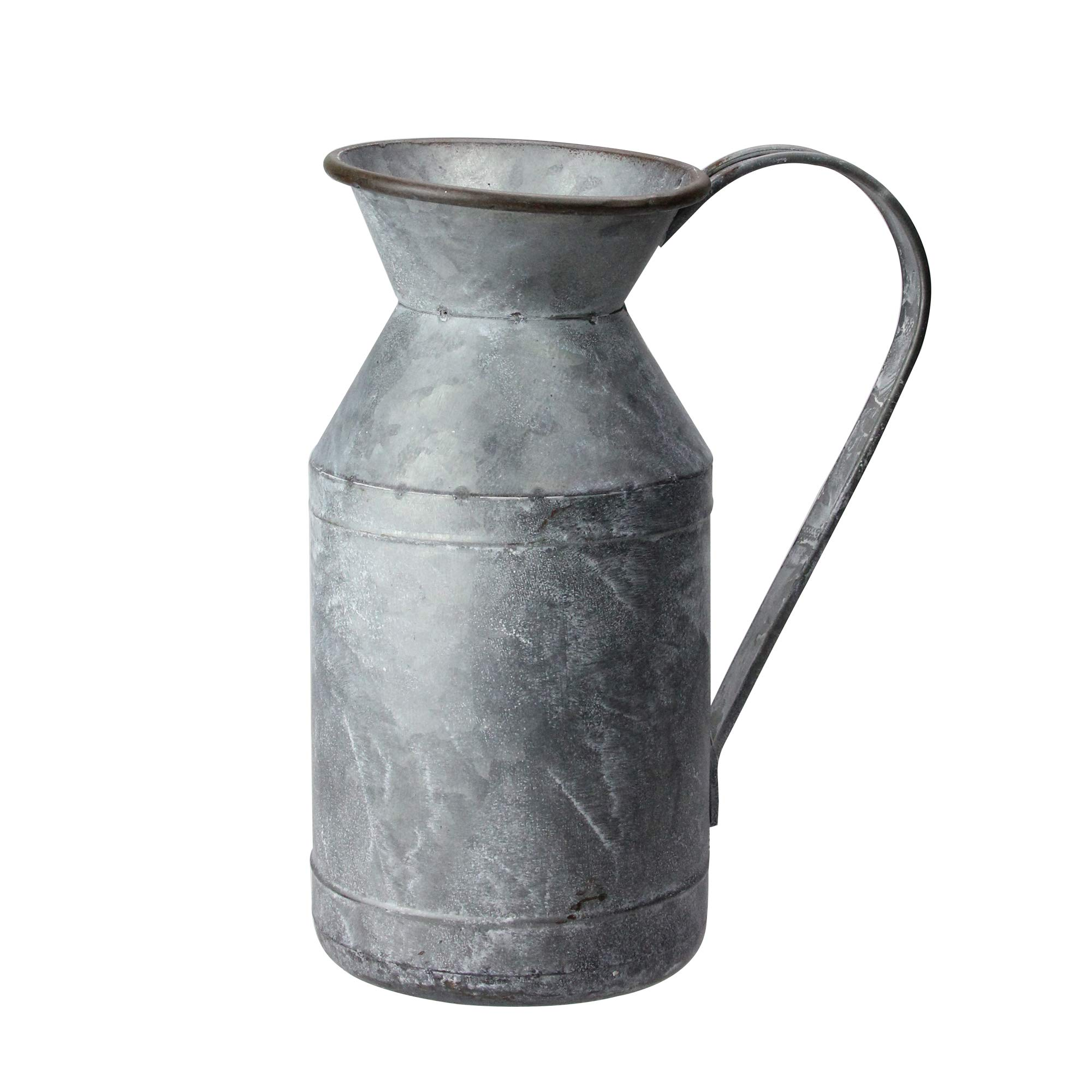RAZ Imports Rustic Galvanized 11 inch Iron Metal Decorative Farmhouse Pitcher by RAZ Imports
