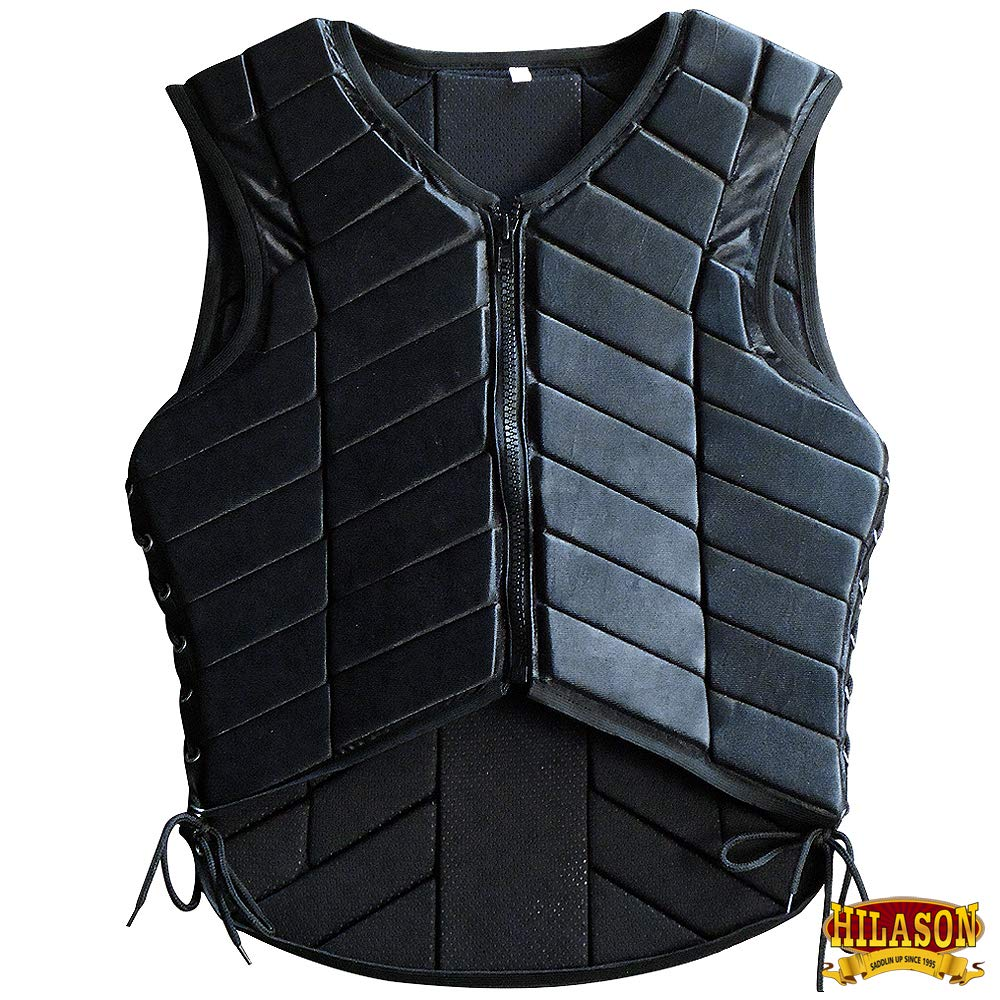HILASON XXL ADULT SAFETY EQUESTRIAN EVENTING PROTECTIVE PROTECTION VEST