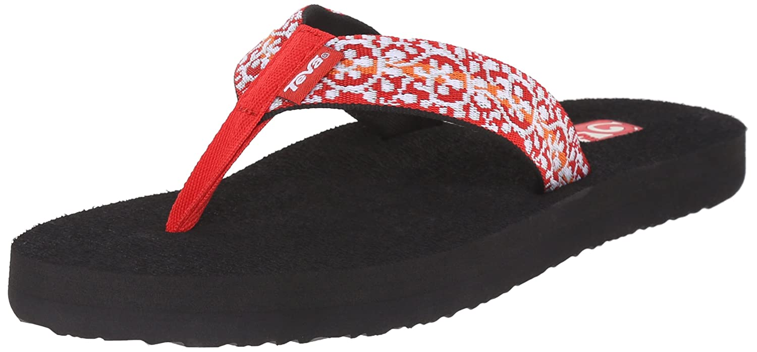 Teva Women's Mush II Flip-Flop B0126LWW2Y 6 B(M) US|Companera Red