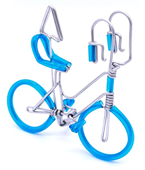 Trns handmade wire bicycle aluminium wire art sculpture model for trns handmade wire bicycle aluminium wire art sculpture model for showing business card holders photo unique colourmoves