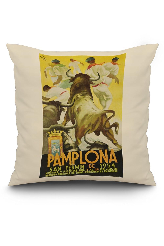 Amazon.com: Spain - Pamplona - (artist: Sotes c. 1954 ...